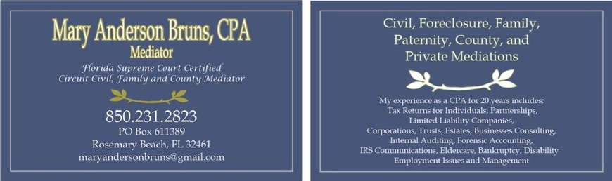 CPA Services - Mary Anderson Bruns, CPA